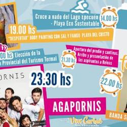 Agapornis y Andres Clerc estarán en la Fiesta Provincial del Turismo Termal