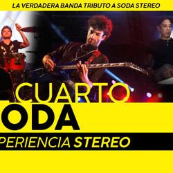 El Cuarto Soda llega para interpretar lo mejor del repertorio de Soda Stereo
