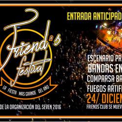 Una Megafiesta para recibir la Navidad: Friend's Festival 2016