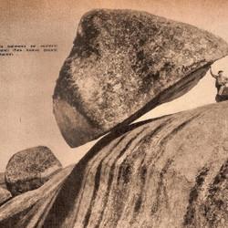 Un 29 de febrero de 1912 caía la Piedra Movediza
