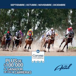 """Este domingo comienza en el Hipódromo de Azul la """"Corona Cervantina"""""""