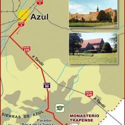 ¿Como llegar al Monasterio Trapense?