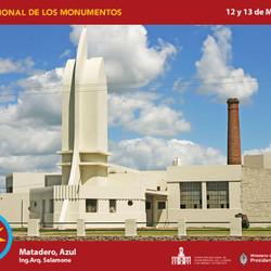 Actividades en Azul por el Día Nacional de los Monumentos