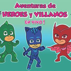 """Llega el musical infantil """"Aventura de Héroes y Villanos"""" al Teatro Español"""