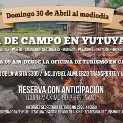 Actividades para la familia en un día de campo en Yutuyaco