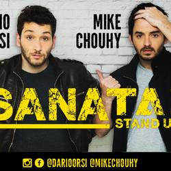"""Llega """"Sanata Stand Up"""" con Darío Orsi y Mike Chouhy"""