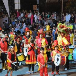 Movimiento de Dramaturgia Rural (Brasil) en el Carnaval de mi Tandil