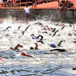 Este domingo se realizará el Triatlón infantil y la última fecha de Aguas Abiertas