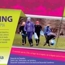 Deporte y cuidado del medioambiente en la primera edición de Plogging