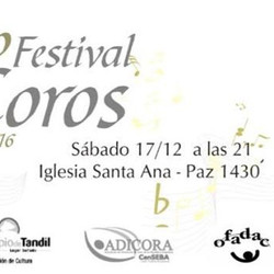 Tandil prepara el 43° Festival de Coros