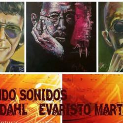 """Muestra """"Pintando Sonidos"""" de Paula Dahl y Evaristo Martinez"""
