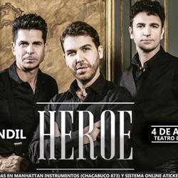 """""""Héroe"""" llega al Teatro del Fuerte"""