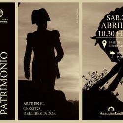 """""""Sentí Patrimonio"""", arte en el Cerrito del Libertador"""
