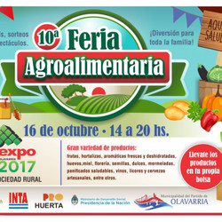 Se realizará la 10° Feria Agroalimentaria