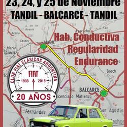 20° edición del Rally Aniversario de Fiat