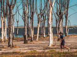 Investigan las aguas del Lago Epecuén en busca de medicamentos de la naturaleza