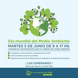 Jornada por el Día Mundial del Medio Ambiente