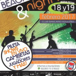 Beach Voley & Night Fest 2017