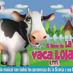 El show de la vaca Lola llega al teatro