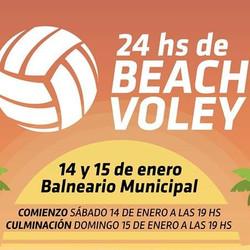 """Tapalqué tendrá sus """"24 horas de Beach Voley"""""""