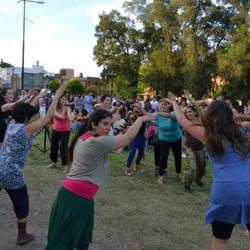 Invierno Danzaazul 2012-Clase abierta de danza comunitaria con Aurelia Chillemi