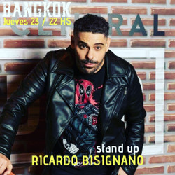 Stand Up en Bangkok | Este jueves, Ricardo Bisignano
