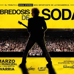 """""""Sobredosis de Soda"""", el tributo a Soda Stereo vuelve al Teatro"""