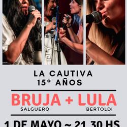 Bruja Salguero + Lula Bertoldi