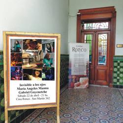 Propuestas literaria y musical este sábado en Casa Ronco