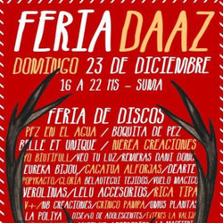 Feria de Arte y Diseño DAAZ en diciembre