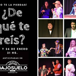 """Este sábado se despide """"De que te Reís?"""", homenaje al humor argentino"""
