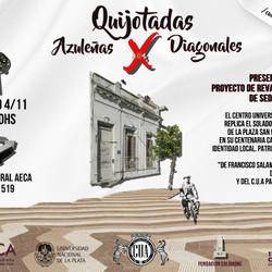 #FestivalCervantino2017   Quijotadas Azuleñas X Diagonales - Revalorización de fachada histórica