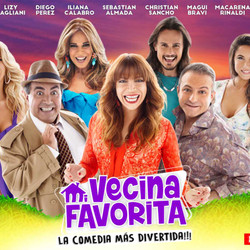 "Llega ""Mi vecina favorita"", con Lizy Tagliani, Iliana Calabró, Diego Pérez, Magui Bravi y elenco"