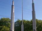Portada del Parque Municipal Domingo F. Sarmiento