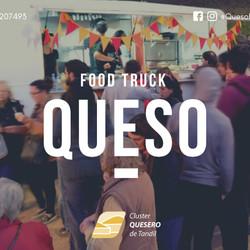 """""""Queso"""", el primer Foodtruck exclusivo de comidas con queso del país estará en Expomiel"""