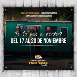 Fiesta Retro y Food Trucks en el Paseo de los Españoles