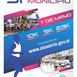 El 1 de mayo se realizará la 31º Vuelta al Municipio