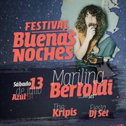 #MarilinaBertoldiEnAzul | Ya están a la venta las entradas online