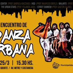 Se realizará el Primer Encuentro de Danza Urbana