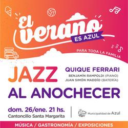 """Jazz al anochecer en """"El Verano es Azul"""""""