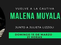 Malena Muyala vuelve a girar!