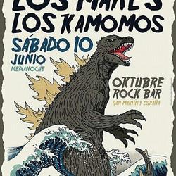 Los Mares y Los Kamomos tocarán en Oktubre Rock Bar