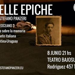 """El reconocido actor italiano Stefano Panzeri llega con """"Belle Epiche"""""""