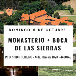 MONASTERIO TRAPENSE Y BOCA DE LAS SIERRAS