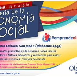 Este domingo, nueva edición de la Feria de la Economía Social