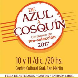 Azul nuevamente sede del Pre Cosquín