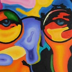 Muestra de pinturas en la Casa de la Cultura